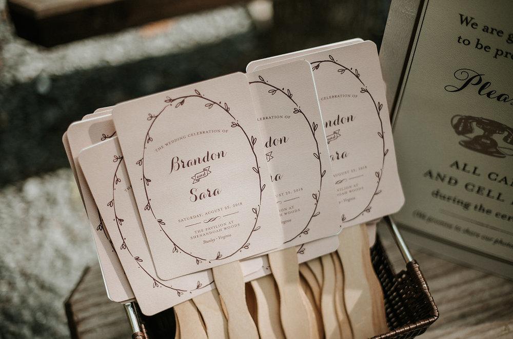 Ceremony Detail Shot at The Pavilion Shenandoah Woods