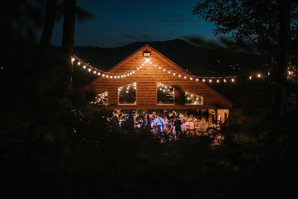 Wedding Venue Shot at The Pavilion Shenandoah Woods