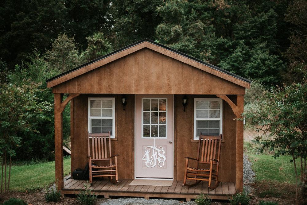 Small Cabin Venue Shot at 48 Fields Farm