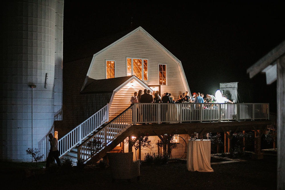 Shot of Venue at Reception site at 48 Fields Farm