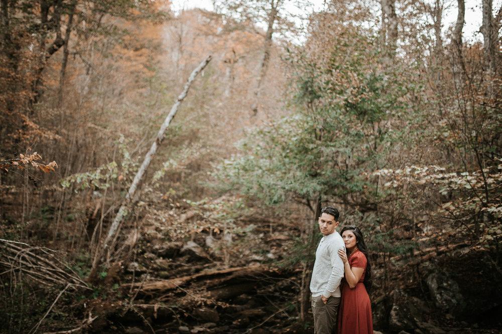 shenandoah national park engagement session photo