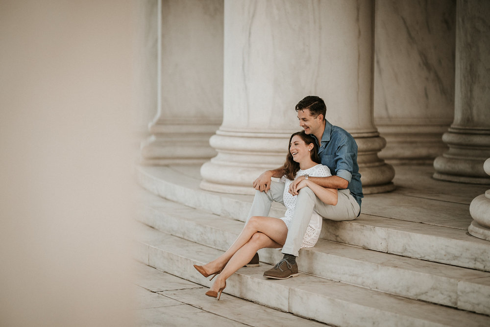 Engagement Session in Washington DC