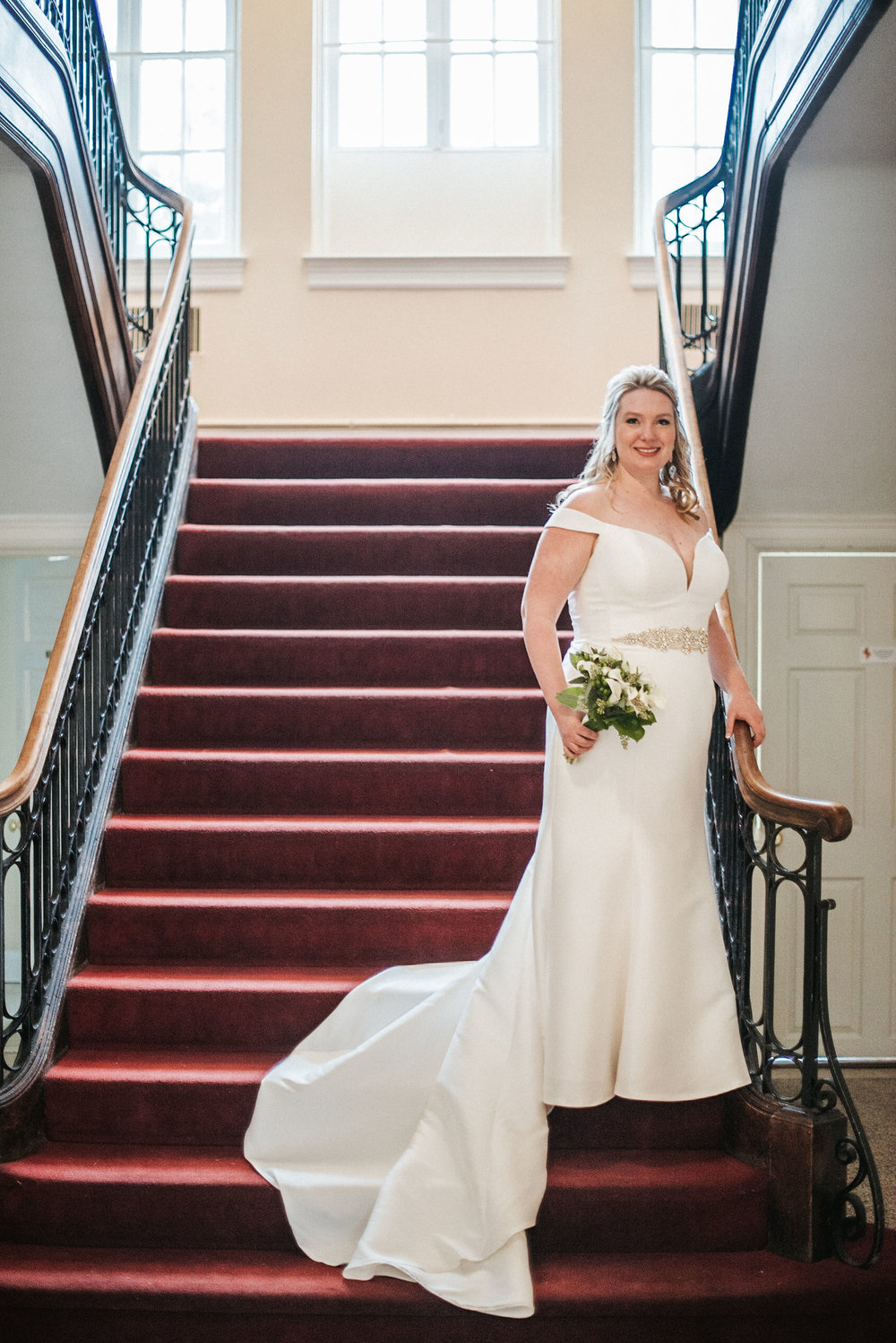 bridal portrait at the josephine butler parks center