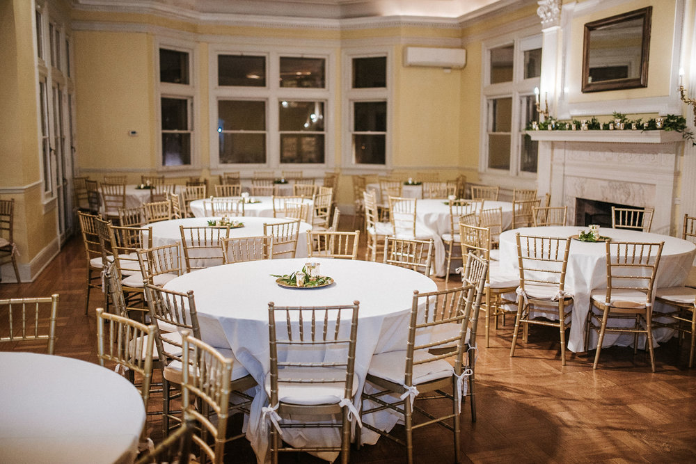 reception site at the josephine butler parks center