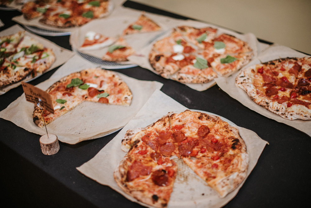 pizza catering at the josephine butler parks center