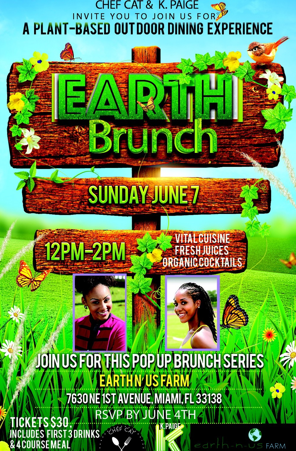 Miami Plant-based Pop Up Brunch Series