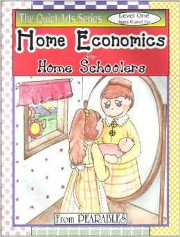 Lessons in Responsibility for Girls, Level 1 (also known asHome Economics for Home Schoolers). By: Anne White. Simple projects with instructions that teach basic skills of keeping a home.