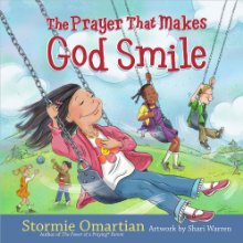 The Prayer That Makes God Smile.  By: Stormie Omartian.  Helps parents lead their child into praying a prayer of salvation, the prayer that makes God smile.