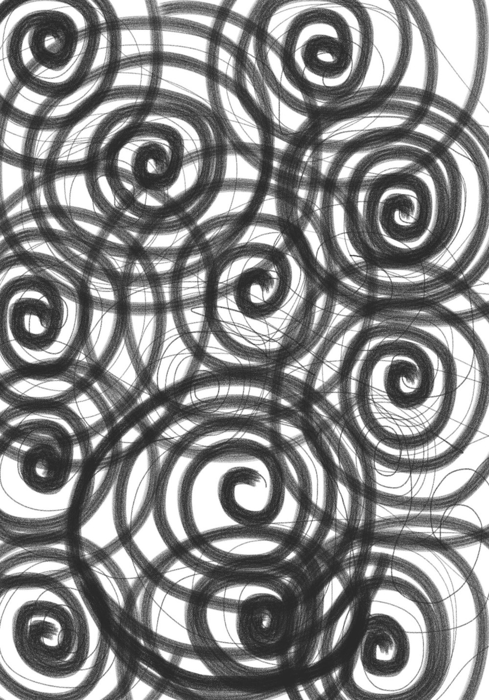 Spirals of Love , 2012, Digital Art