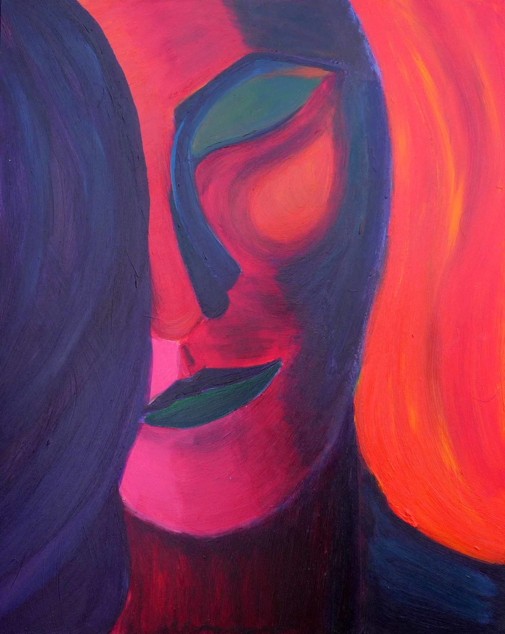 Angel, 2006, Acrylic, 16 x 20 in