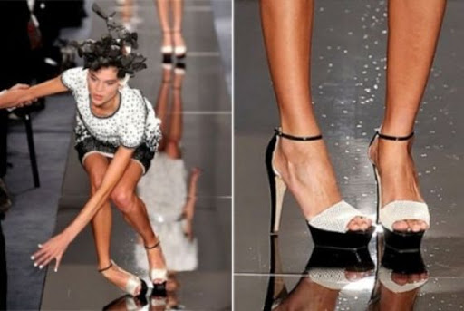 Don't let fashion be your downfall.  I see way too many women out there teetering around in high heels with zero ankle stability, things like this are bound to happen...especially when you add alcohol to the mix.