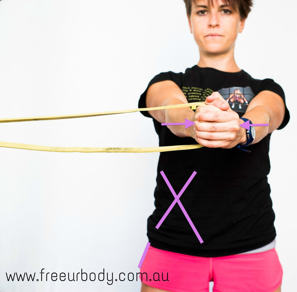 Pallof Press Abdominal Stability Rehab Trainer Adelaide