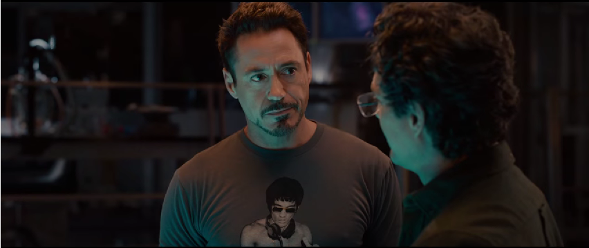 Robert Downey Jr has started a cool graphic t-shirt club. He tells Fuckable Dad they have to destroy the iMaids before they make rock climbing popular. You can't wear a graphic t-shirt while rock climbing.