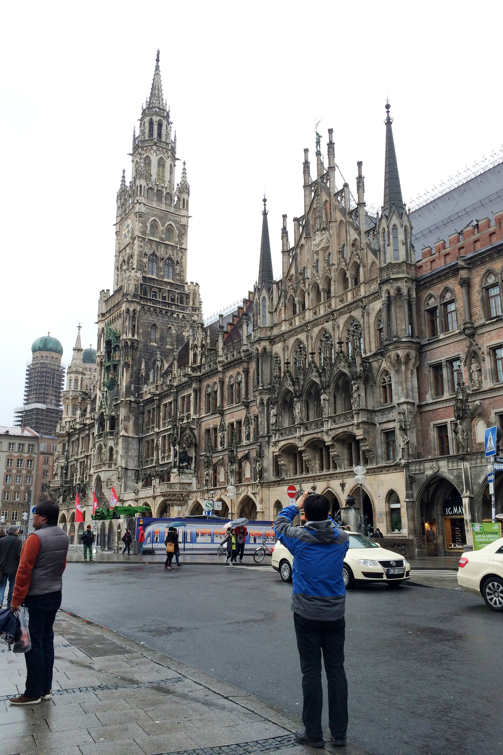 This beautiful Gothic architecture houses a shopping mall.