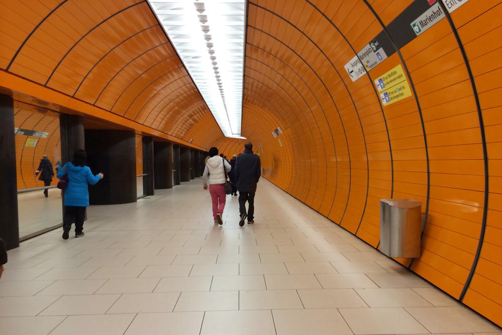 Fun underground station.