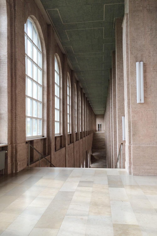 Inside theAlte Pinakothek, an art museum in Munich.