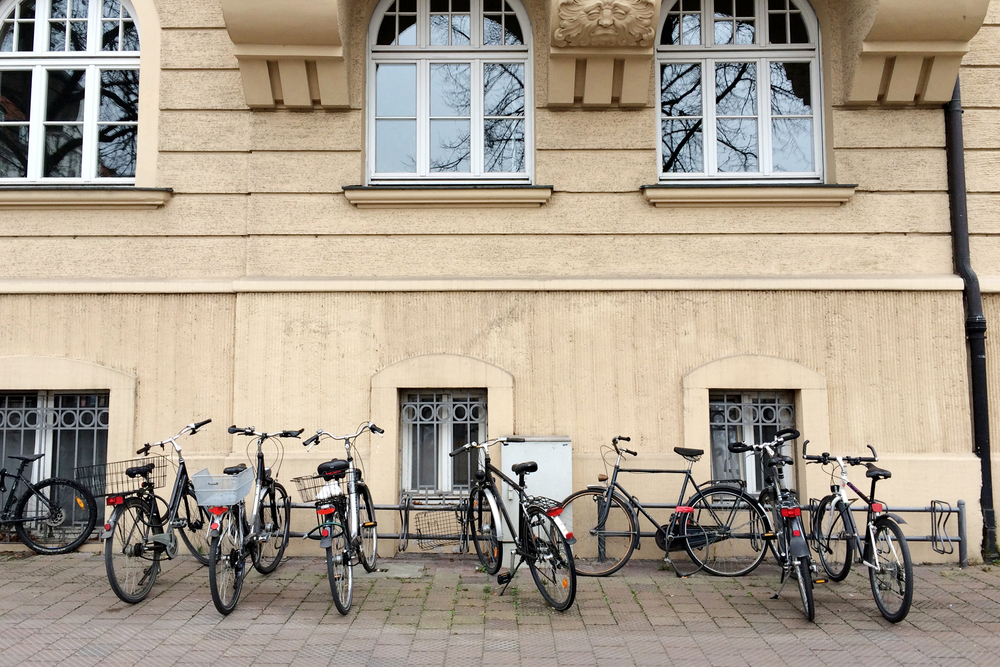 There are so many bikes in Munich! I love it!