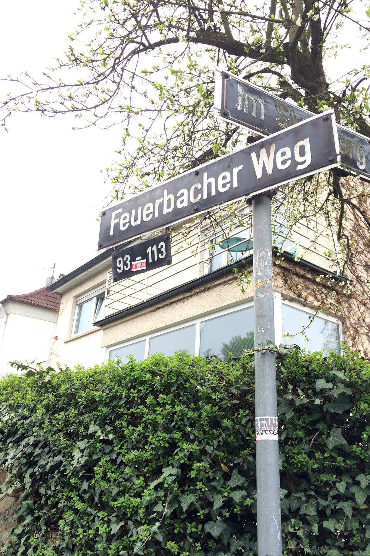 Feuergacher Weg is the street where I live!