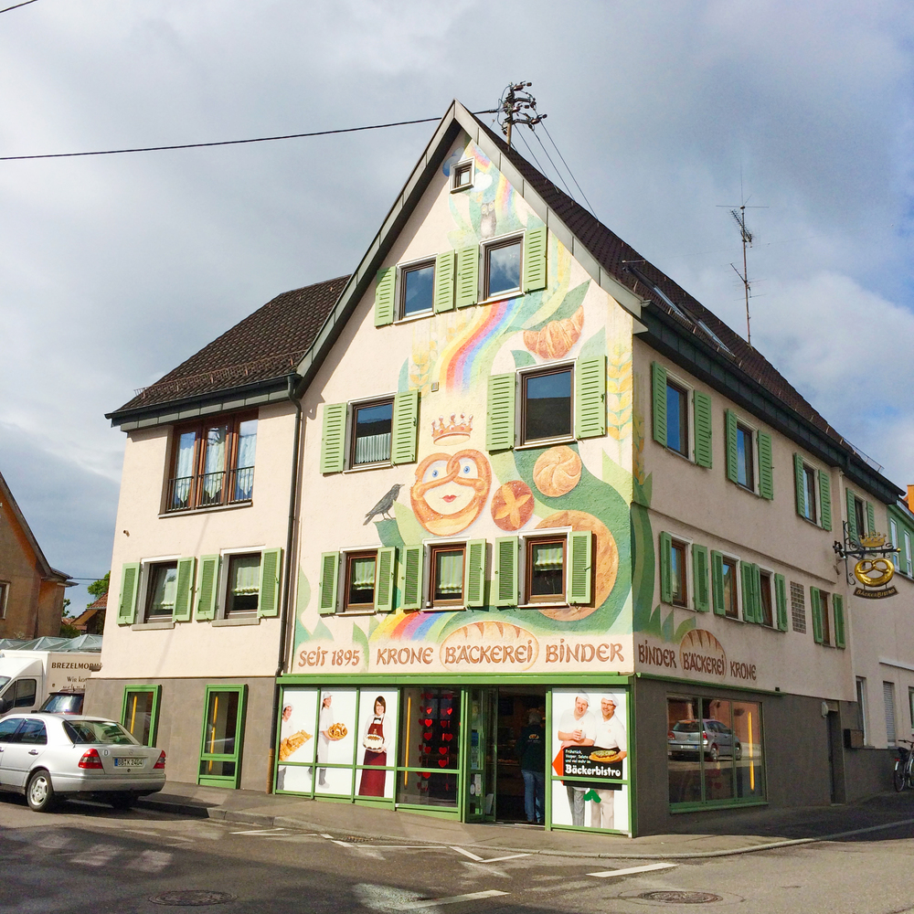 It's such a cute little German town! This is the bakery :)