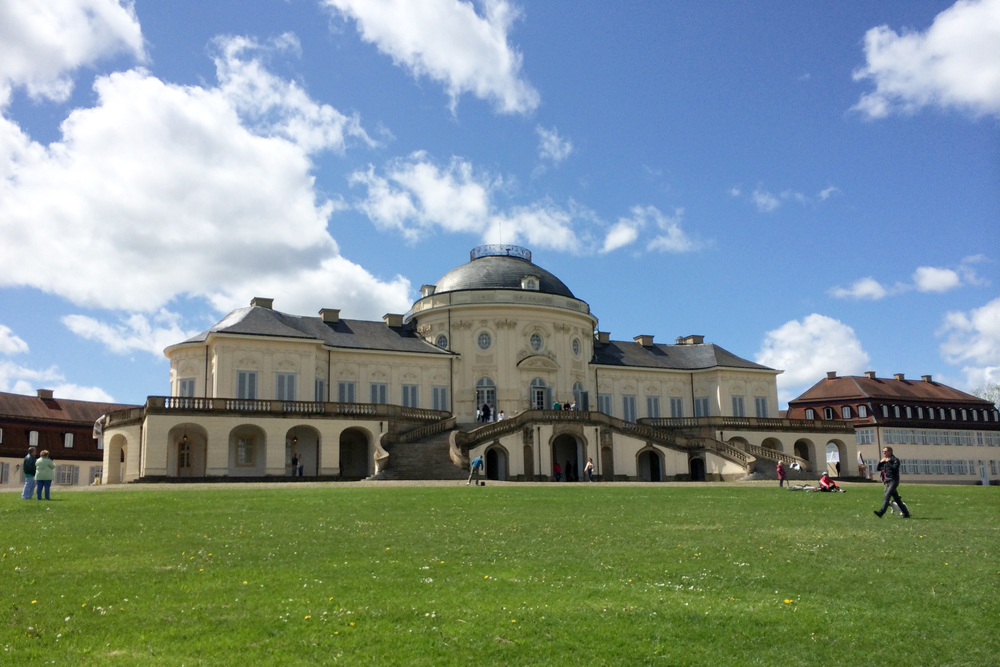 Last Sunday, I got to visit Schloss Solitude with my friends the Eskelsens. It was such a beautiful afternoon!