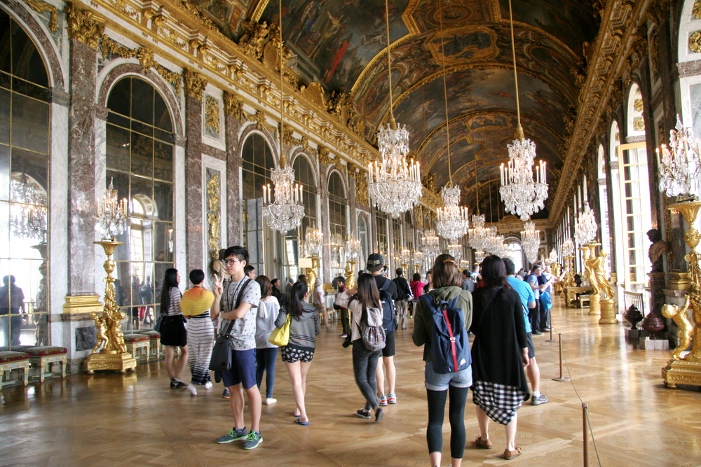 The Hall of Mirrors from Versailles.
