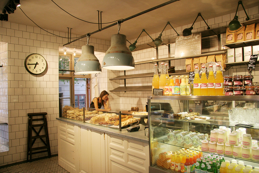 8) Adorable bakeries