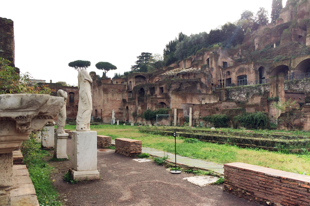 I learned a little bit about the Vestal Virgins in Ancient Rome and their job to keep the sacred fire in the temple burning—super interesting.