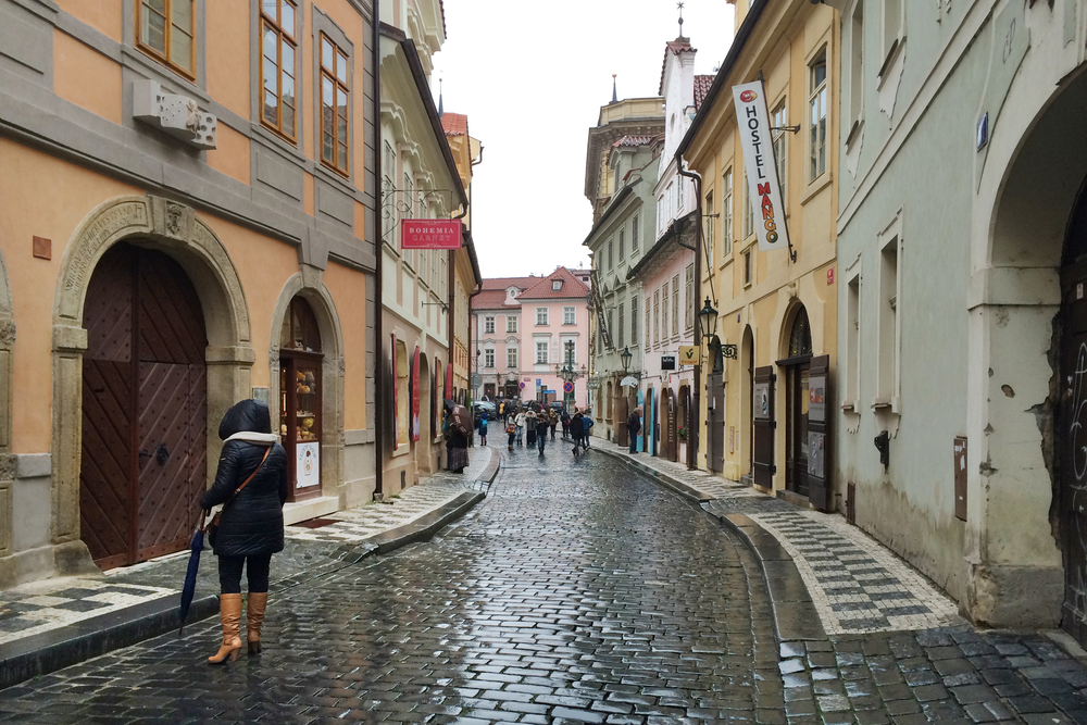 Prague is one of the only major European cities that was virtually untouched during the war, so all the old streets and buildings are still there.