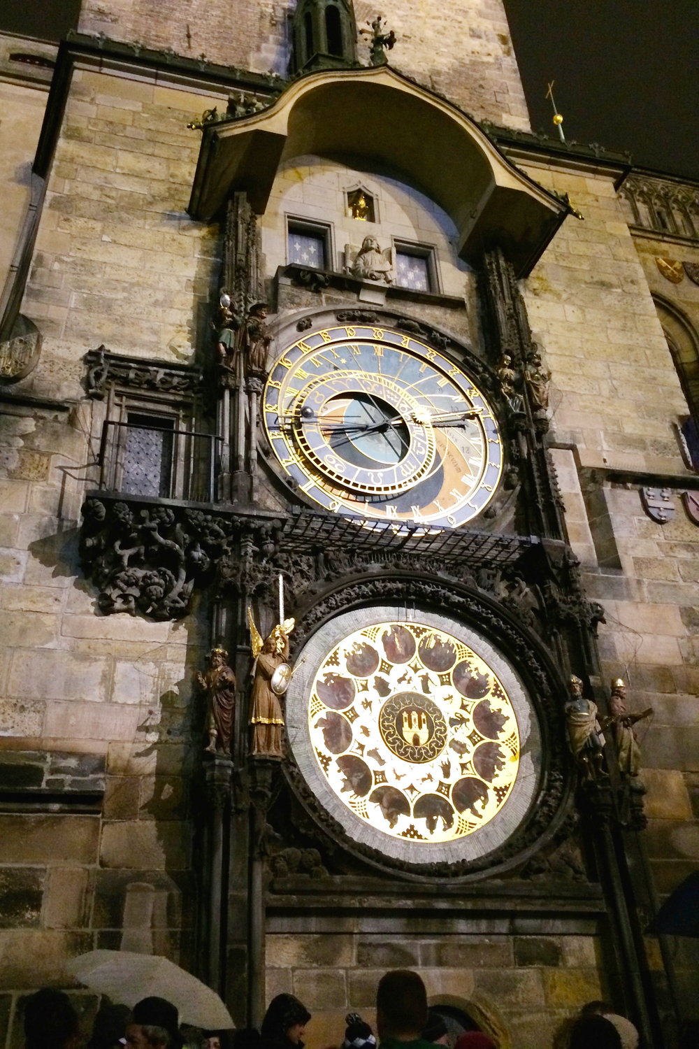 The famous Astronomical clock!