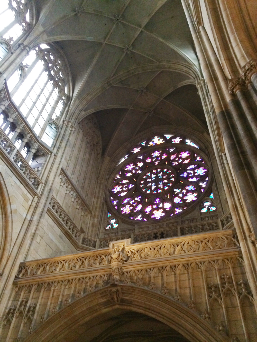 Love this rose window.