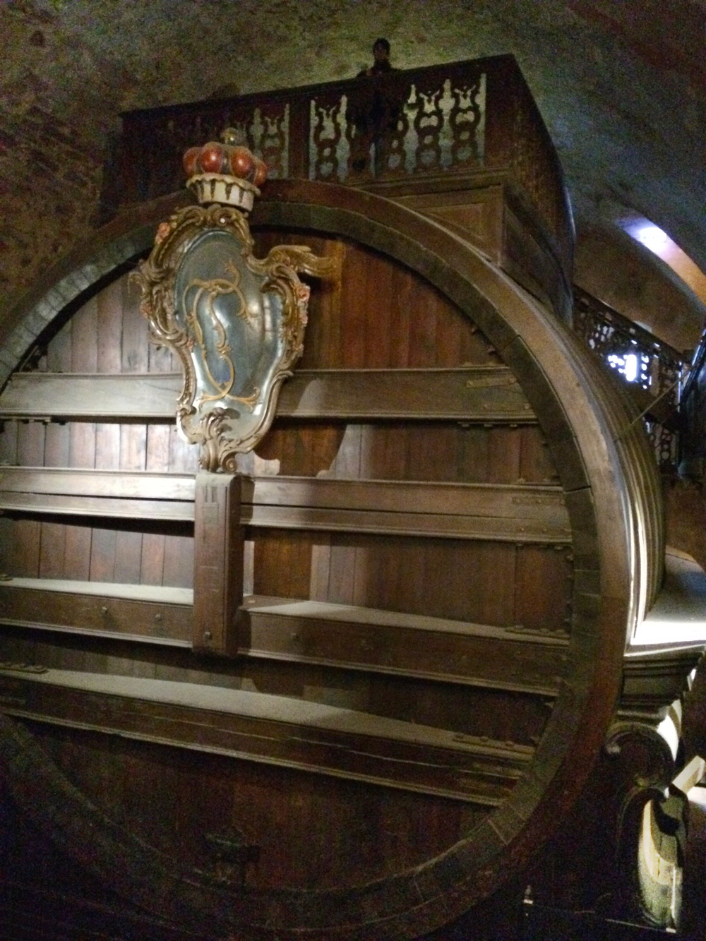 Heidelberg Castle is also home to the biggest wine keg in the world!