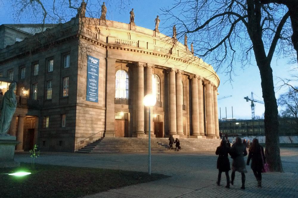 The Stuttgart Opera House