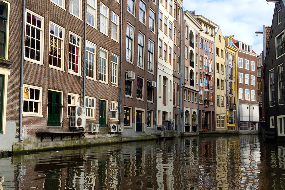 """Our canal guide told us that Amsterdam is known as """"The Venice of the North."""""""