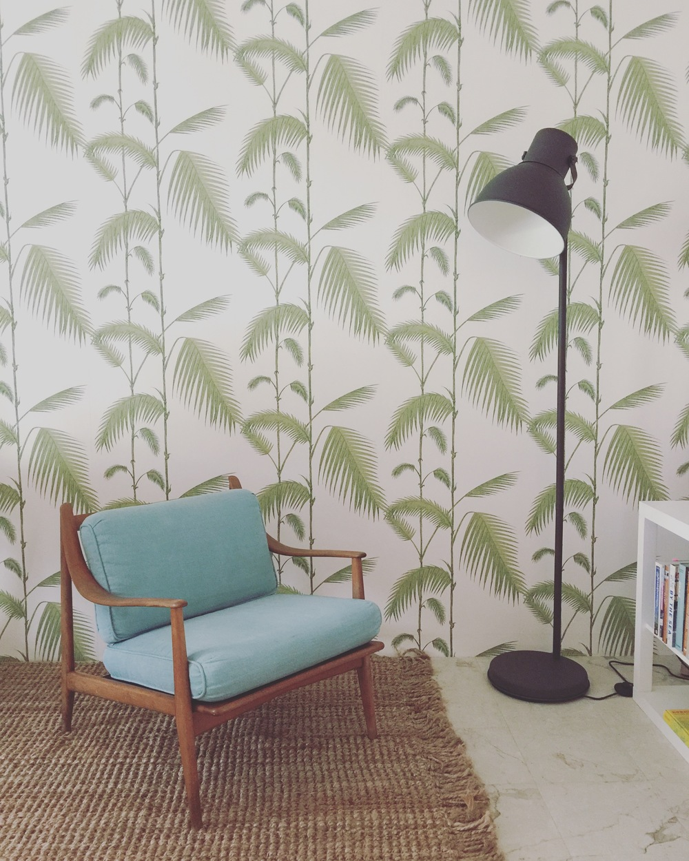 Employee Break Room: where we dream tropical daydreams