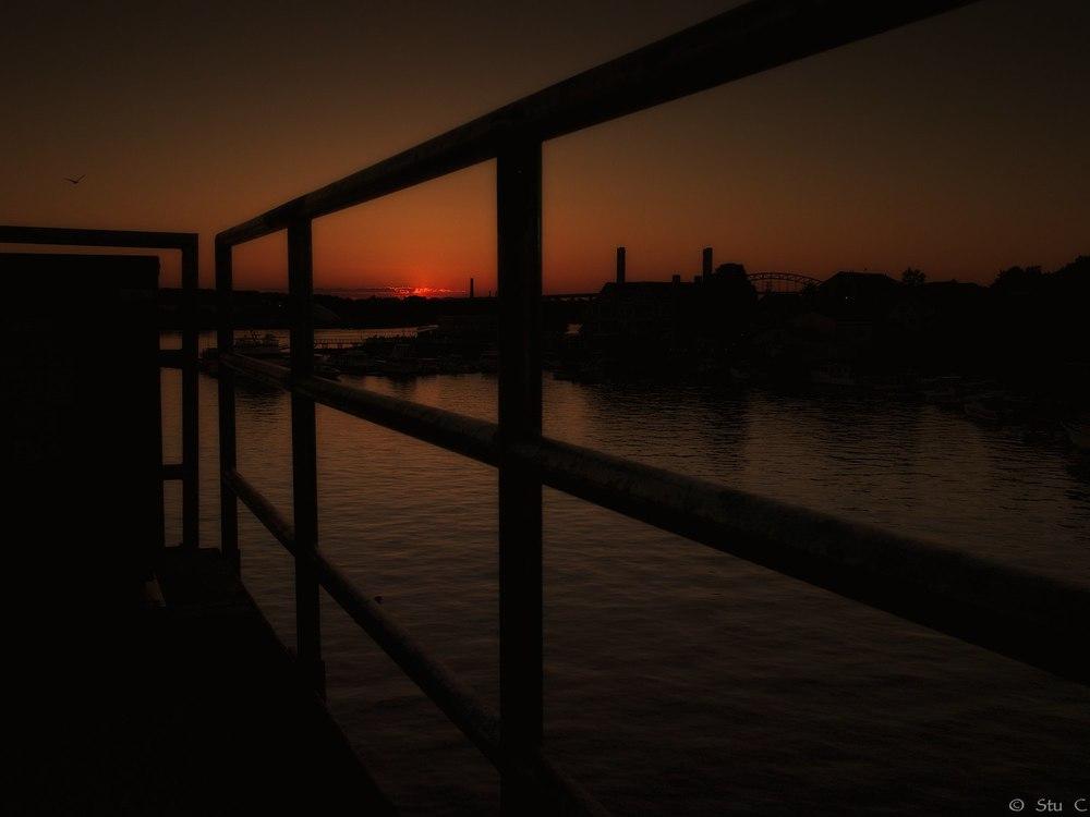 Sunset Over Piscataqua