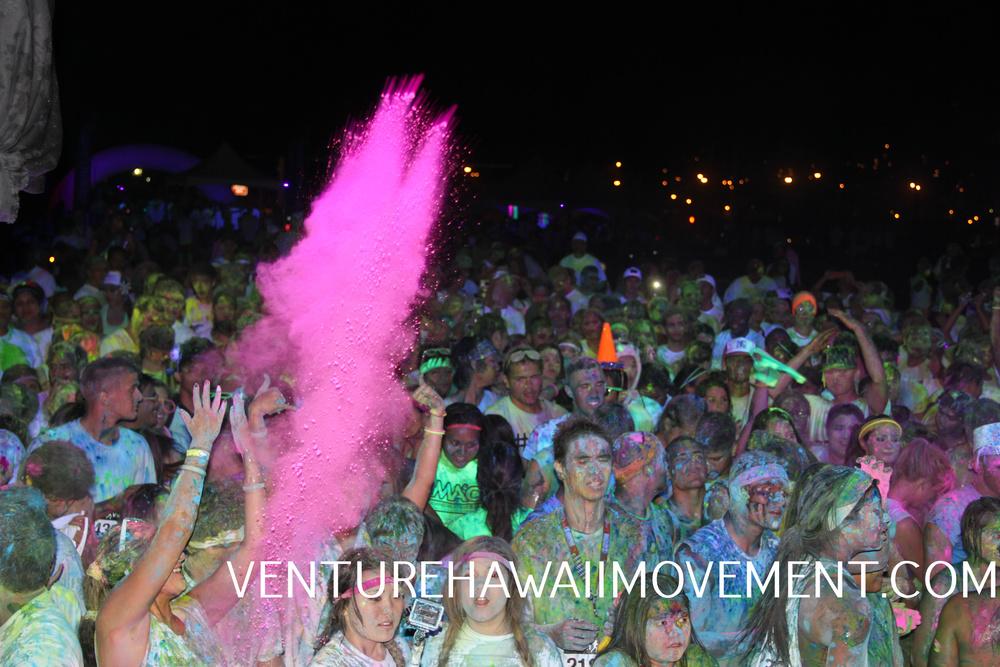 Neon Vibe 5KHawai'i 2014