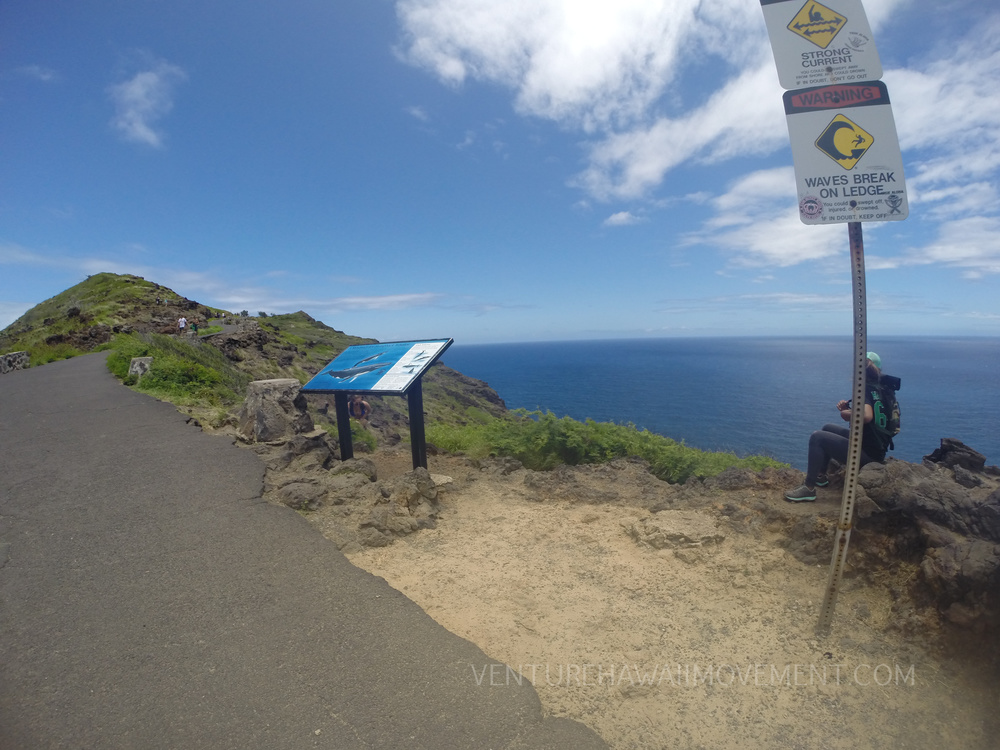 Start of Makapu'u Tidepools trail.