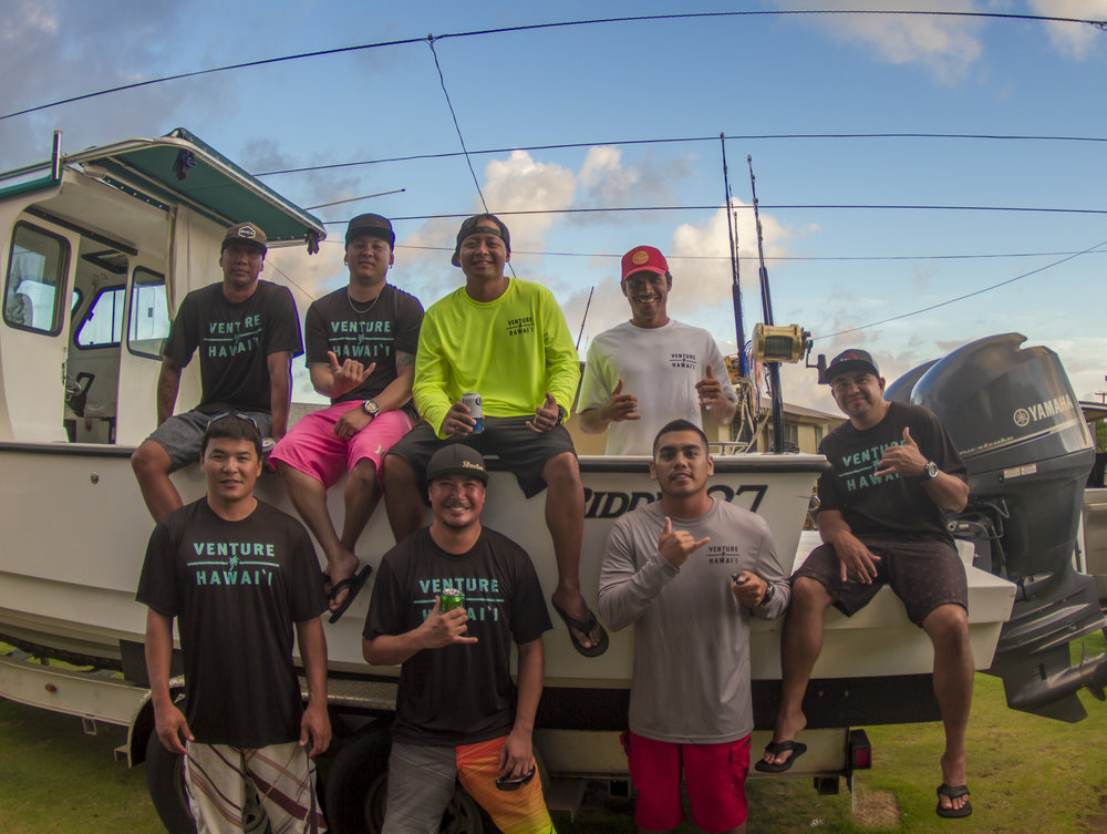 DIVE TEAM - Team Venture Hawaii (SPEARFISHING AND DIVING) - The Venture Hawai'i Dive Team is built upon unity and respect. We respect our ocean, land, communities and we respect each other.