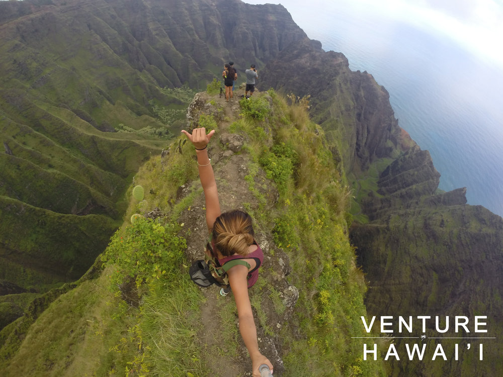 Awa'awapuhi Trail - What an amazing view in Kaua'i. Well worth the 6 mile round trip hike.