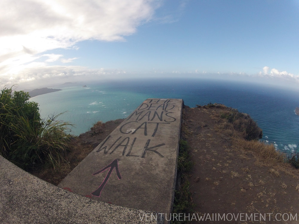 The Dead Man's Catwalk  - The Dead Man's Cat Walk on Oahu, Hawai'i.