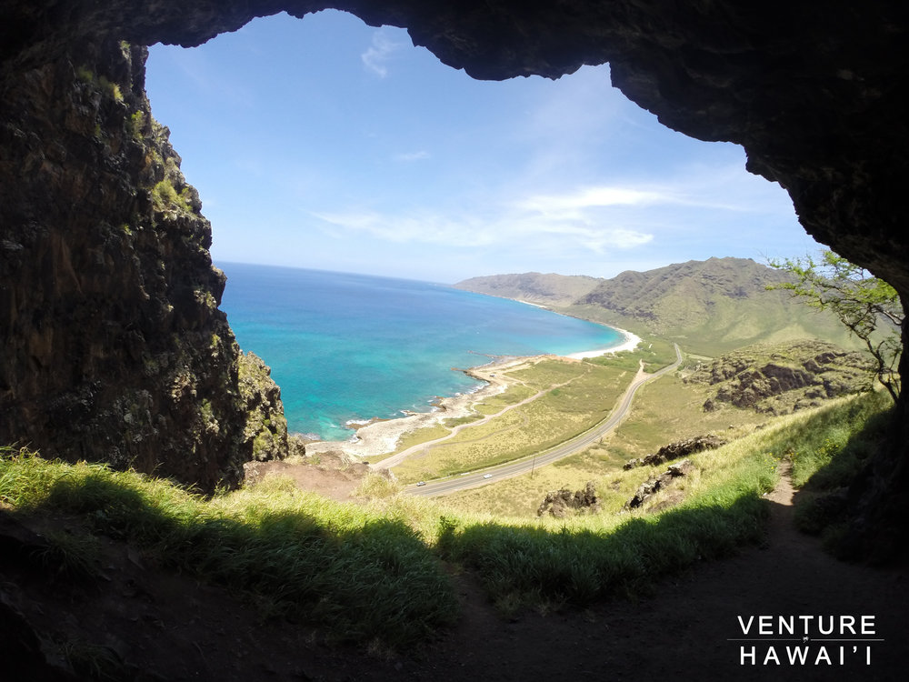 Upper Makua Cave Pt. 2 - Our Easter Sunday hike up Upper Makua Cave.