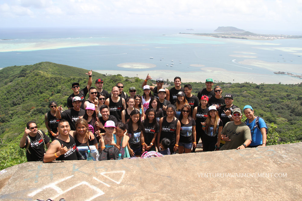 Pu'u Ma'eli'eli Pt .2 - 42 family & friends joined Red Label Clothing and us as we launched our collab