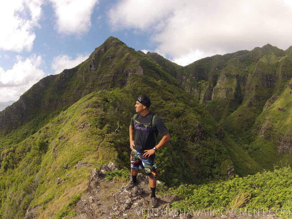 Pu'u KahekiliPt. 1 - Pu'u Kahekili hike on Oahu, Hawai'i.
