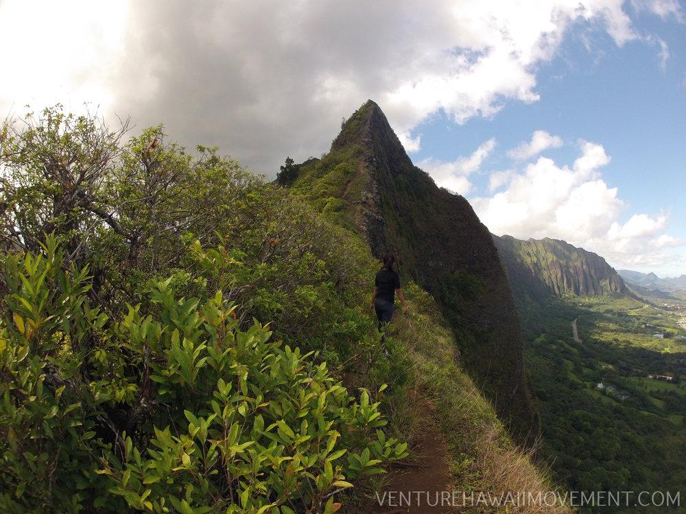 Pali Puka - Pali Puka hike on Oahu, Hawai'i.