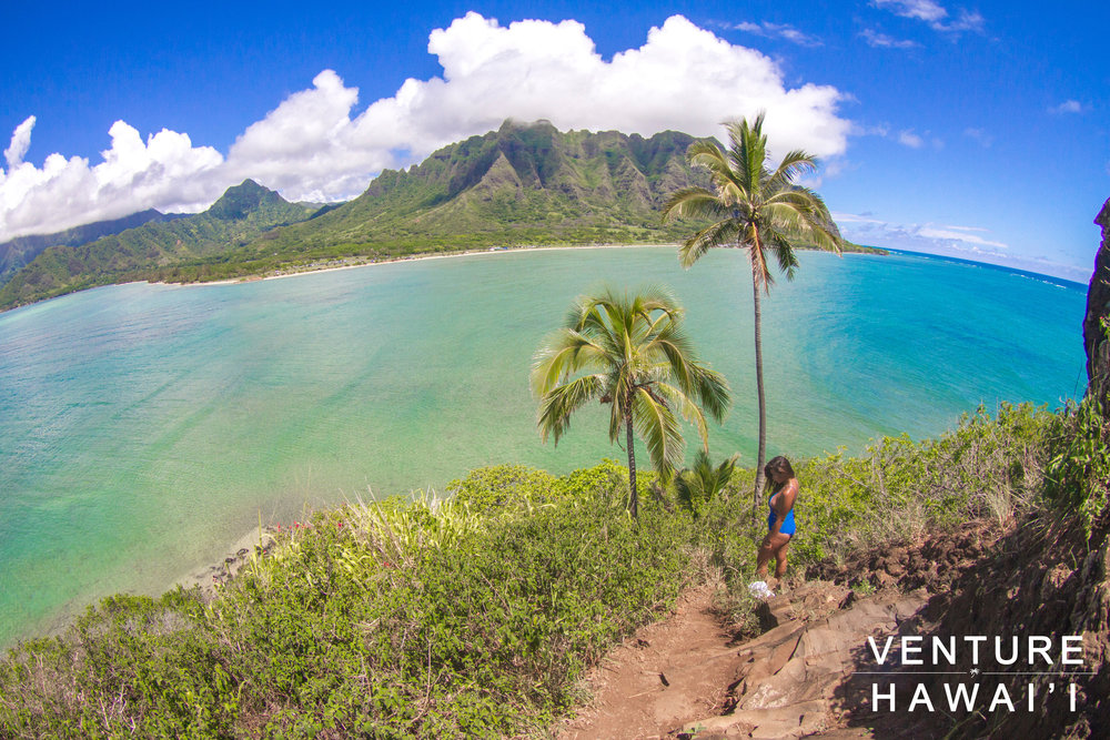 Mokoli'i Island (Chinamans Hat) - Another beautiful day on the Windward side of Oahu. We kayaked out to Mokoli'i Island, also known as Chinamans Hat for the shape. It's been a while since we came to this awesome spot!