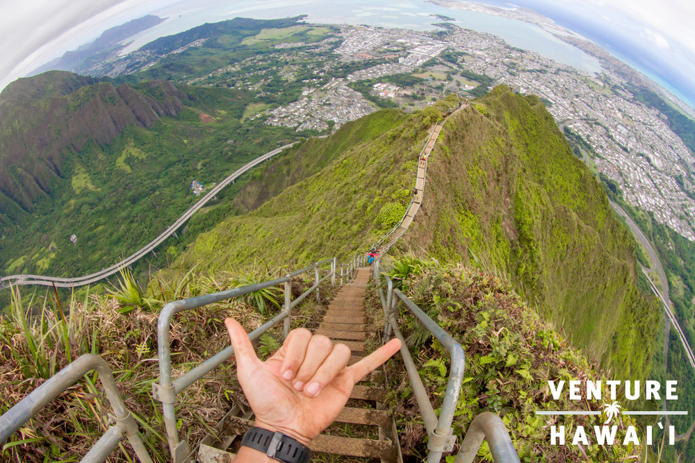 Stairway to Heaven - Just a few photos & a video from the last time we ended up on the Haiku Stairs, commonly known as the Stairway To Heaven.