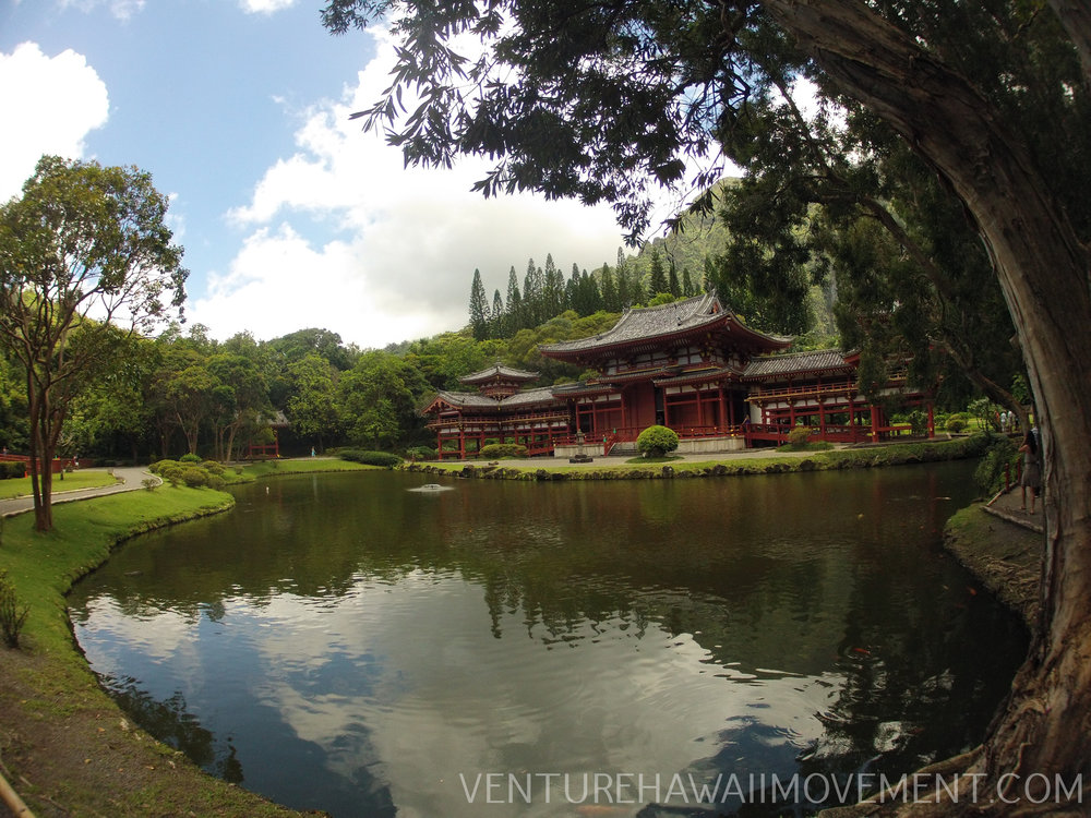 Byodo-In Temple: Valley Of The Temples - This temple was established on June 7, 1968. It is a non-practicing Buddhist temple that welcomes people from all faiths to worship and meditate.