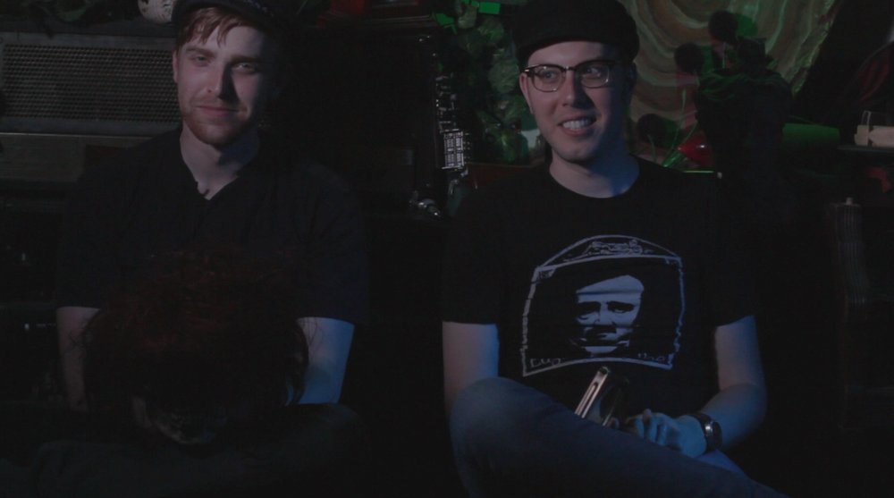 So a ginger and a guy with glasses walk into a room...
