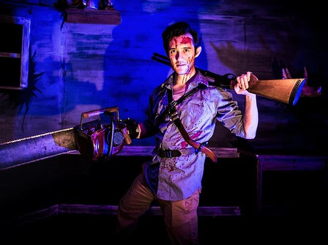 That's right you primitive screwheads, we're extending! Evil Dead the Musical now runs @thegaragetheatre October 28th. Come get some! #evildead #evildead2 #evildeadthemusical #ashvsevildead #ash #horror #musical #longbeach