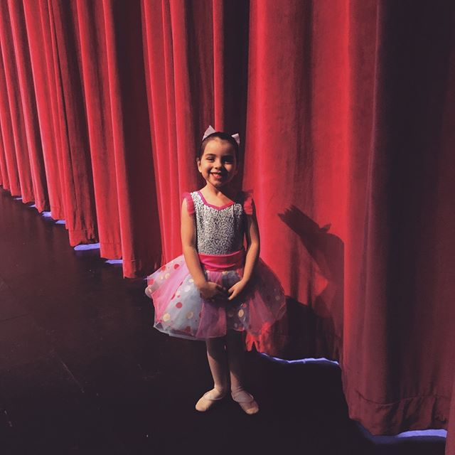 The Bean's first winter recital.